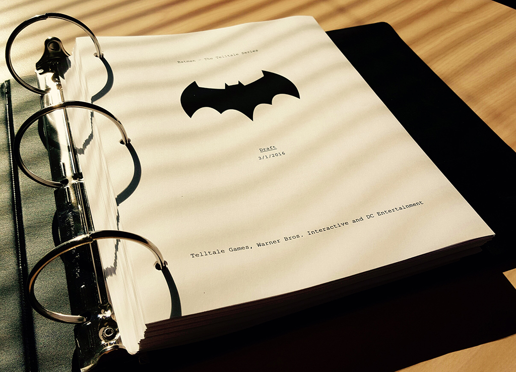 Telltales BATMAN Draft