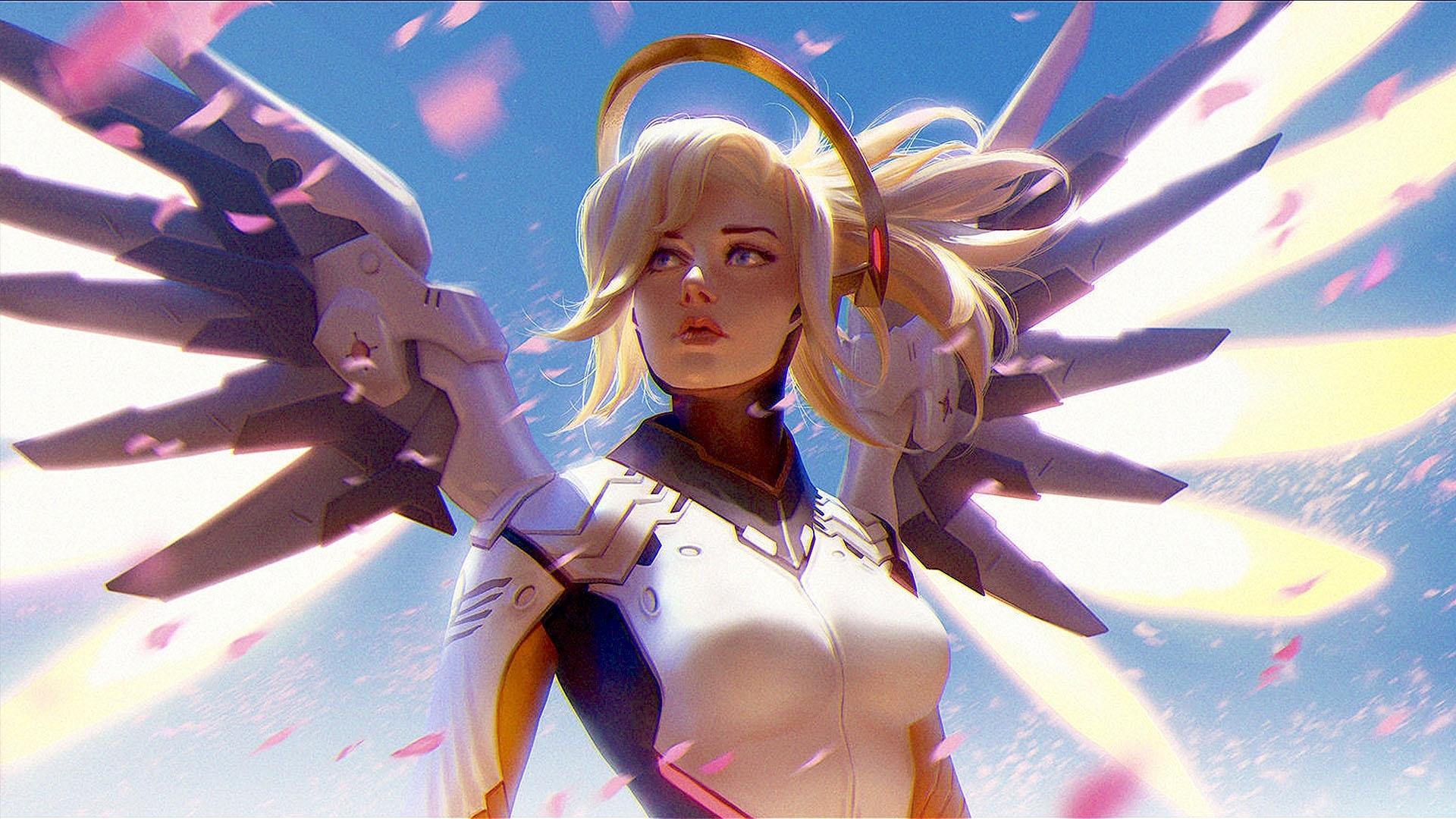 art-girl-overwatch-mercy