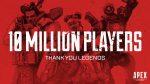 В Apex Legends сыграло 10 миллионов человек