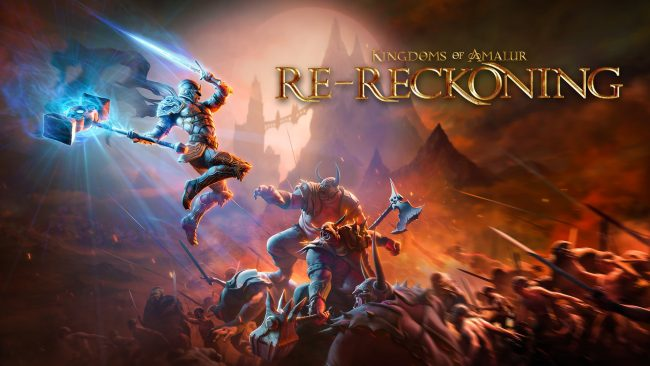 Kingdoms of 2Amalur Re-Reckoning Key Art