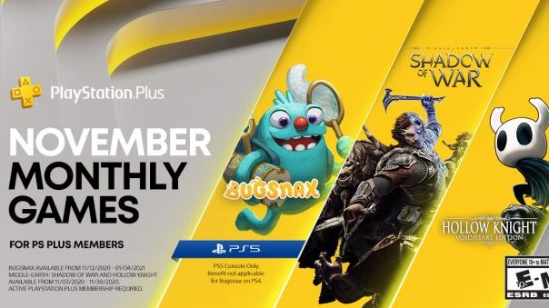 PlayStation Plus November 2020